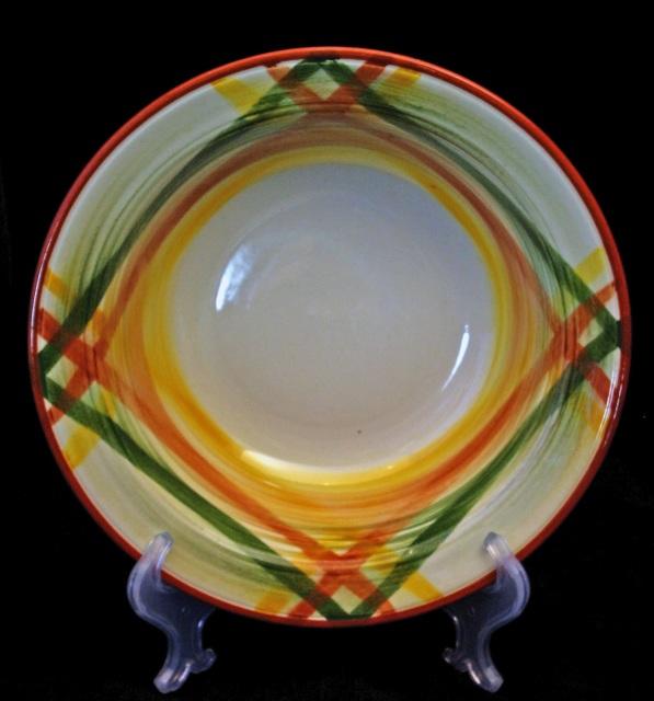 Vernon Kilns Quot Homespun Quot Dinnerware